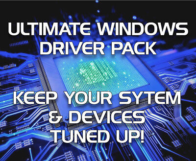 Windows Pc Drivers Recovery/restore/repair/install - Instant Download!!
