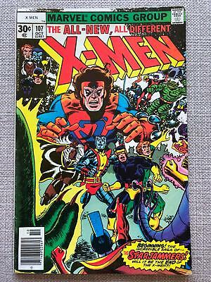 X-Men #107 (1977) First full appearance of Starjammers