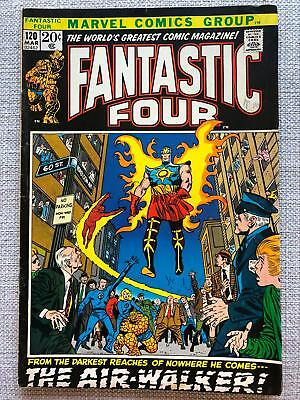 Fantastic Four #120 (1972) First appearance of Airwalker