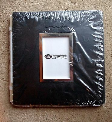 Creative Memories Black Original 12x12 album coverset with Frame - BNIP
