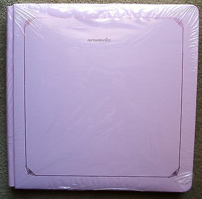 Creative Memories Pink Original 12x12 Album WITH WHITE PAGES