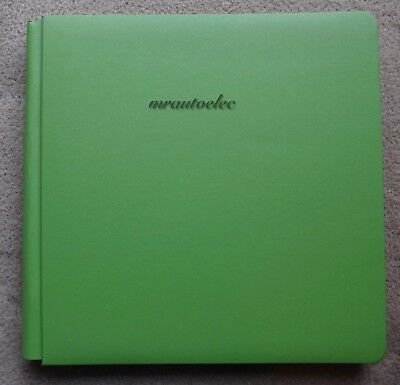 Creative Memories Lime Green Original 12x12 scrapbook album with themed pages