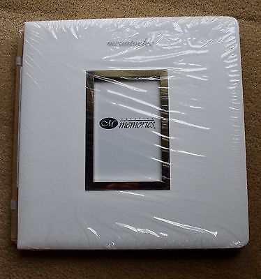 Creative Memories White Original 12x12 album coverset with Frame - BNIP