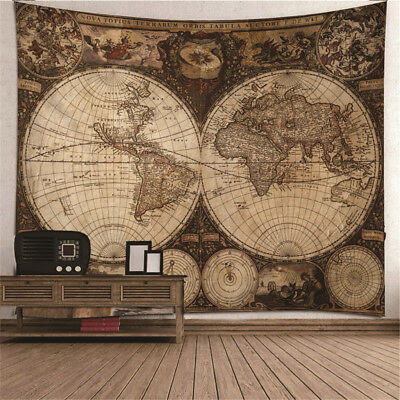 Mysterious Universe Wall Tapestry Wall Decor Large Table Cloth Bedspread #6