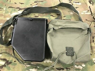 M249 Bandolier And Black Plastic Storage Box Used