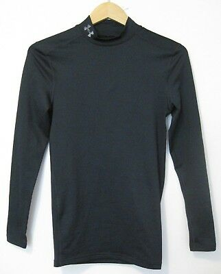Under Armour Compression Cold Gear Mock Neck Long Sleeve Shirt Men's Small