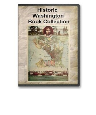 30 washington wa state county history culture family genealogy books