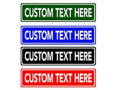 Custom Personalized Street Signs Make Your Own Street Sign