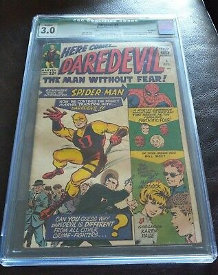 Daredevil #1 (1St Appearance Of Daredevil In Own Issue) Mega Key Issue: Cgc 3.0!