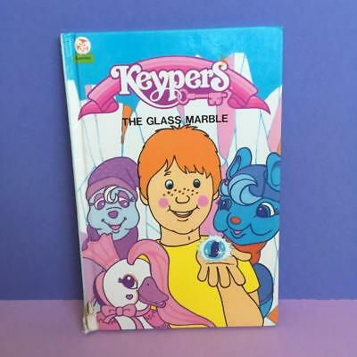 Vintage Keypers Toy Little Owl Mini HB Story Comic Book The Glass Marble 1980s