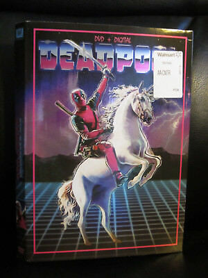 Deadpool Unicorn DVD Slip Cover ONLY Walmart Exclusive Marvel Fox