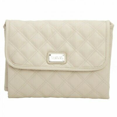 Changing table Travel Nanan Eco leather Quilted Ecru