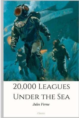 20,000 Leagues Under the Sea, Very Good Condition Book, Verne, Jules, ISBN 97819