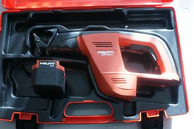 NEW HILTI WSR 650-A & Case 24v CORDLESS RECIPROCATING SAW ( No charger )