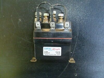 Curtis Albright 4-Terminal DC Contactor, Type DC66-7P, 36 Volts