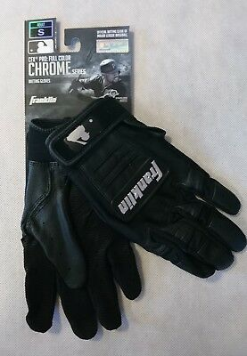 Franklin Batting Glove - Gr. S - CFX PRO Series - Baseball-Handschuh - black
