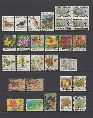 Malaysia - 28 used stamps  ( Lot 144 )
