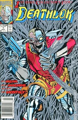 Deathlok (1st Series) 1A 1991 FN Stock Image