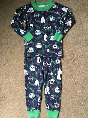 hanna andersson organic pajamas star wars christmas baby boy size 80 18 24 m - Star Wars Christmas Pajamas