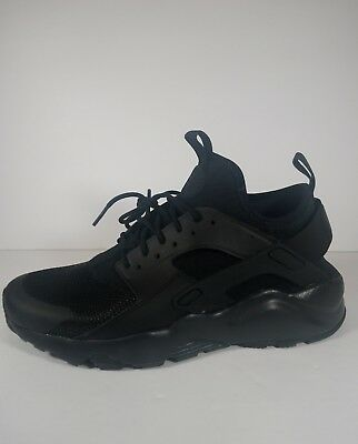b8817a817cd6 NEW Nike Air Huarache Run Ultra Mens 819685-002 Black Black Mesh Running  Shoes
