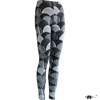 PAAPII ladies organic cotton leggings HARVEST - grey