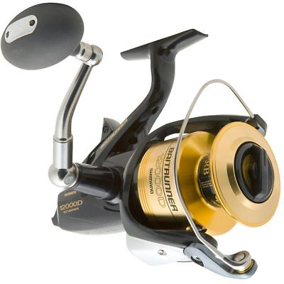 Shimano 12000D Baitrunner fishing reel