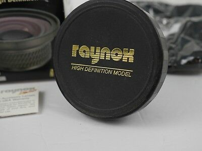Raynox HD-7000 Pro 58mm 0.7x High Def Wide Angle Converter Lens 82mm Filter A011
