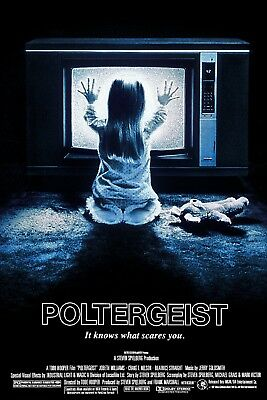 """Poltergeist""...JoBeth Williams.. Classic 1982 Movie Poster Various Sizes"