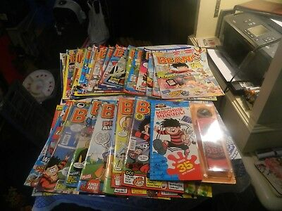 Beano comics from 2014 plus mischief manual x 28