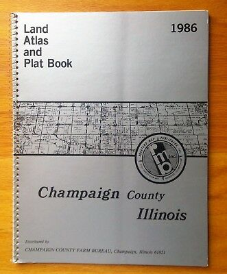 Champaign County Illinois plat book 1986 by Rockford Map Publishers