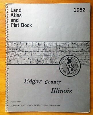 Edgar County Illinois plat book 1982 by Rockford Map Publishers