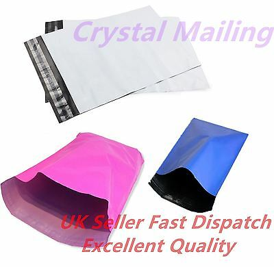 Colour and Grey Plastic Strong Mail Post Mailing Postage Poly Bags Self Seal CS