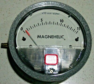 DWYER MAGNEHELIC DIFFERENTIAL PRESSURE GAUGE  0-150 mm H2O