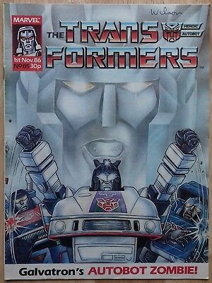 Transformers UK Comic Issue 85