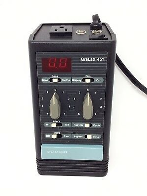GraLab Model 451 High-Accuracy Digital Electronic Timer, +/-0.01% Accuracy