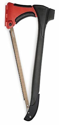 Zippo AxeSaw Full Tang Stainless Steel Axe Saw Blade Storage Camping Hatchet Saw