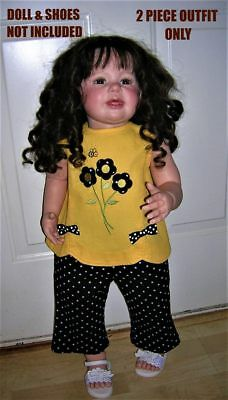 ❤Fall❤2 Pieces❤Top+Pants❤Yellow+Black Bees+Sunflowers❤18M❤Dillard's Starting Out