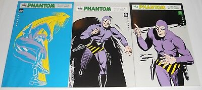The Phantom Sunday Pioneer Reprints Falk & Barry  #1, 2, 3 1980-83. Lot of 3 BOX