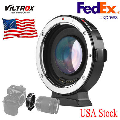 Viltrox Ef-M2 Auto Focus Ring Adapter 0.71X Aperture For Canon Ef Lens To M4/3