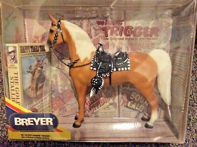 Breyer Trigger 758 Roy Rogers Hollywood Horses Series With Video NIB VHS