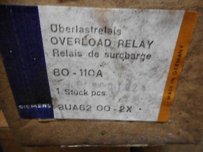 Siemens -- Furnas Electric - Overload Relay 80-110Amp - 3Ua6200-2X - Fact Sealed