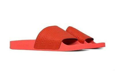 fcd59c355 NEW ADIDAS ADILETTE Easy Coral Sun Glow BY9905 Men's Size 11 ...
