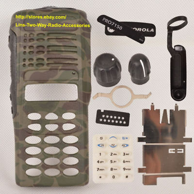 Camouflage Replacement Case Housing for Motorola PRO7150 Portable Radio