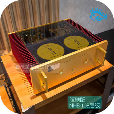Ultimate Swiss quality machine NHB108 no negative feedback after power amplifier