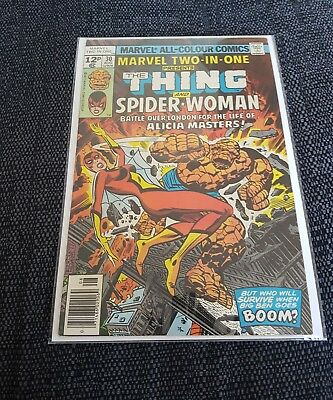 Marvel two in one 30 vfn rare 2nd spiderwoman