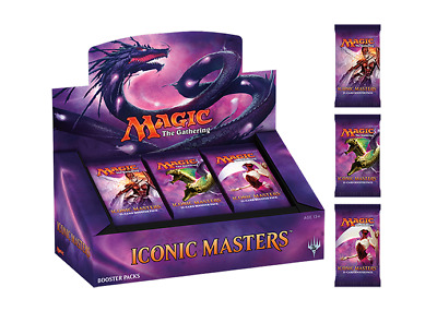 Magic The Gathering - Iconic Masters Booster Pack new/sealed (Aus)
