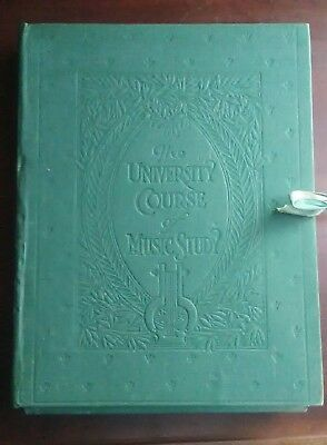 1919 The University Course of Music Study rare grade 6 16 Books national academy