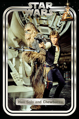 Star Wars Classic (Han and Chewie Retro) Maxi Poster 61cm x 91.5cm PP34344 - 231