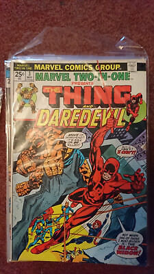 Marvel Two In One 3 (1St Series) - Thing And Daredevil + Daredevil 110 - Fn/vfn