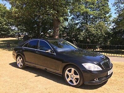 2006 Mercedes S500 Amg Obsedian Black*stunning Luxury Limo With Mega Low Miles